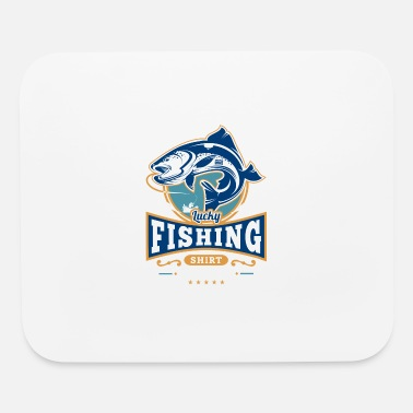 Lucky Fishing Shirt Do Not Wash Outdoor Fisherman - Mouse Pad