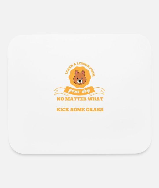Lovers Mouse Pads - Dog - Dogs - Gift - Dog Lover - Mouse Pad white