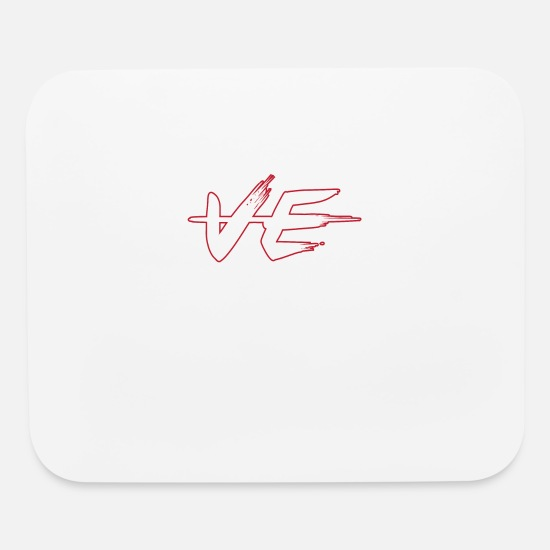 Cute Matching Shirts For Couples Mouse Pads - love valentine t shirt for couple - Mouse Pad white