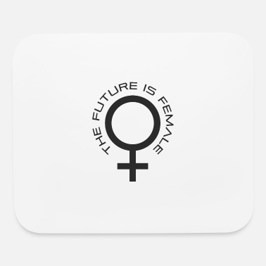 Self-confident women already know the future - Mouse Pad