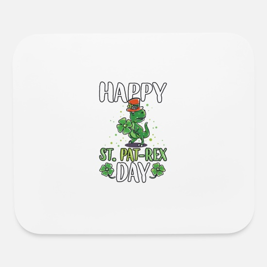 Birthday Mouse Pads - Funny St Patricks Day Leprechaun Party gift Paddy - Mouse Pad white