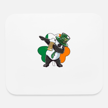 St Patricks Day Funny St Patricks Day Leprechaun Party gift Paddy - Mouse Pad