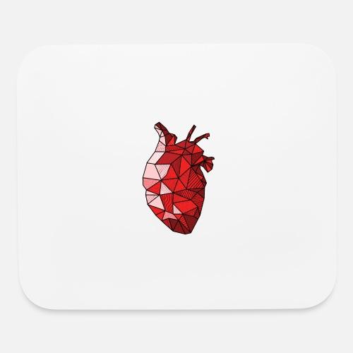 Real Anatomical Human Heart Drawing T Shirt Mouse Pad Spreadshirt