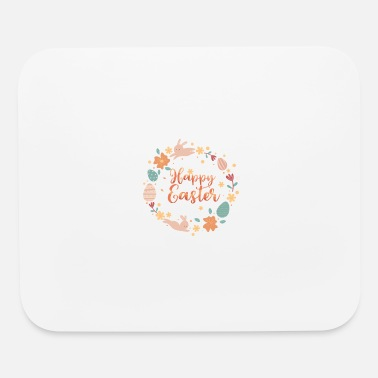 April Happy Easter Bunny Egg Hunting Gift - Mouse Pad