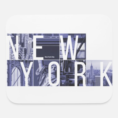 Manhattan New York Cubes - Mouse Pad