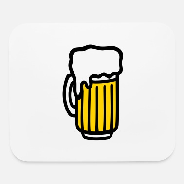 Beer Garden beer glass beer mug beer garden - Mouse Pad