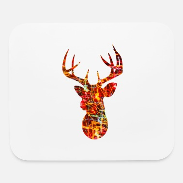 Head Deer Head Design - Mouse Pad