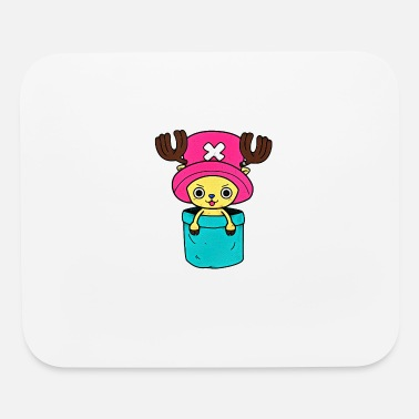 Cartoon Chopper in a pocket - Mouse Pad
