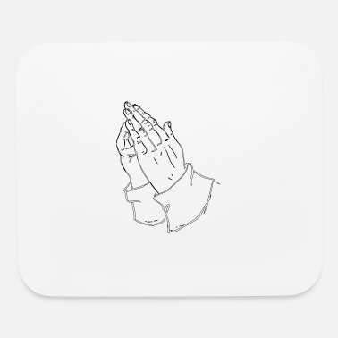 Praying Hands praying hands - Mouse Pad