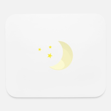 Moon Star Moon Stars - Mouse Pad