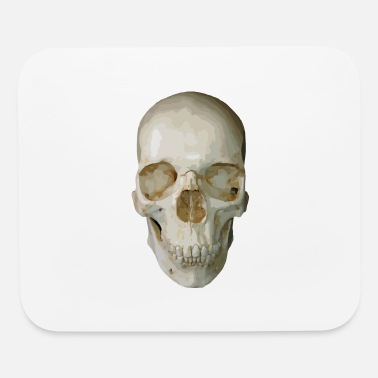Vector skull vector - Mouse Pad