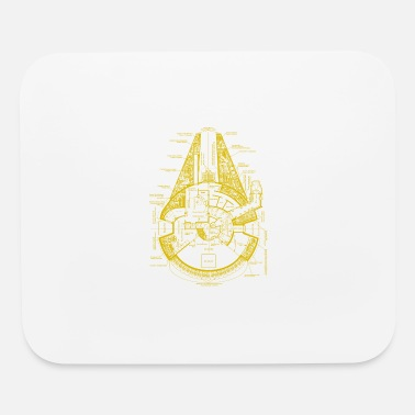 Falcon Falcon Ship - Mouse Pad