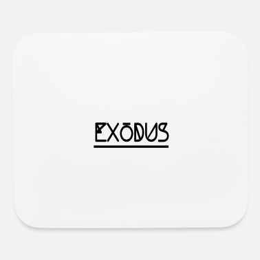 Streetwear Exodus graphic design black street style gift idea - Mouse Pad