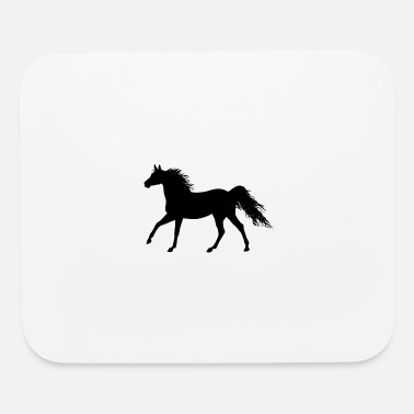 Horse Manure the horse - Mouse Pad