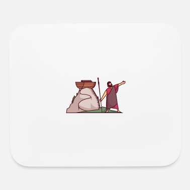 New Testament Its a Old Testament Bible Story Where God Asks Noa - Mouse Pad