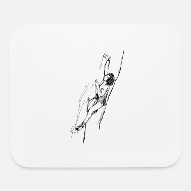 Eighties Climbing in the eighties - Mouse Pad