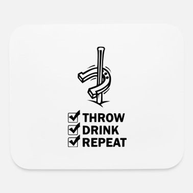 Throw throw drink - Mouse Pad