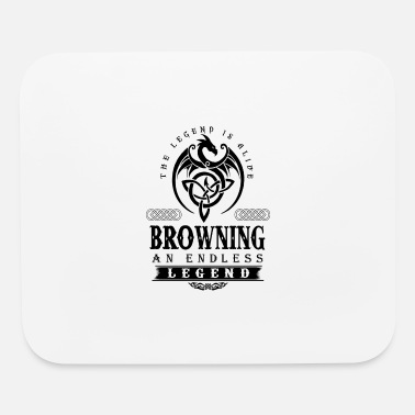 Brown BROWNING - Mouse Pad