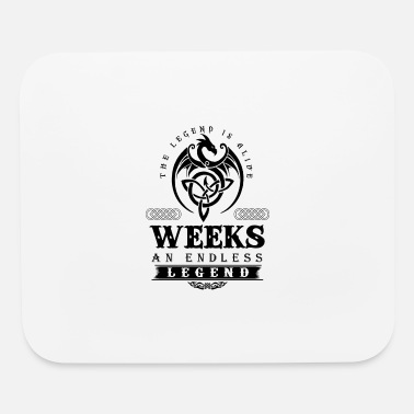 Week WEEKS - Mouse Pad