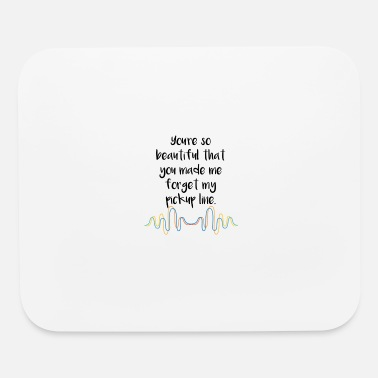 Gay Beautiful pickup cheesy Date Couples Funny Gift - Mouse Pad