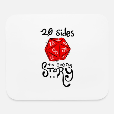 20 sides - Mouse Pad