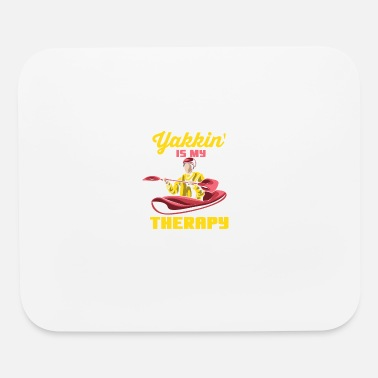 Propeller Yakkin' Is My Therapy - Mouse Pad