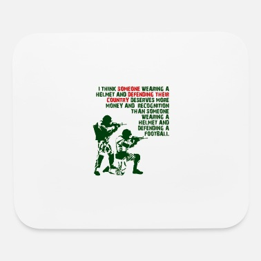 Crazy Wearing A Helmet Funny T-shirt - Mouse Pad