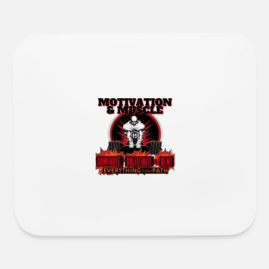 Dents Motivation and Muscle Dominate Obliterate and Dent - Mouse Pad