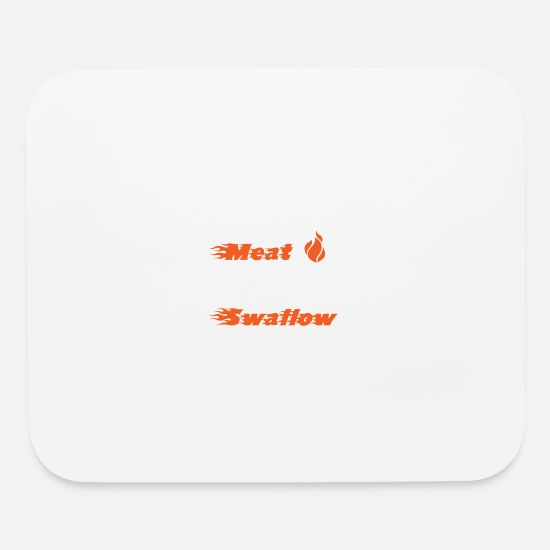 Vulgar Mouse Pads - swallow - Mouse Pad white