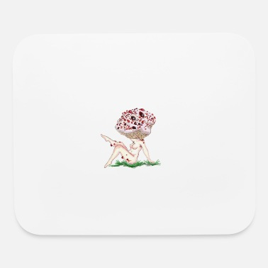Fungal Hydnum peckii Lady - Mouse Pad