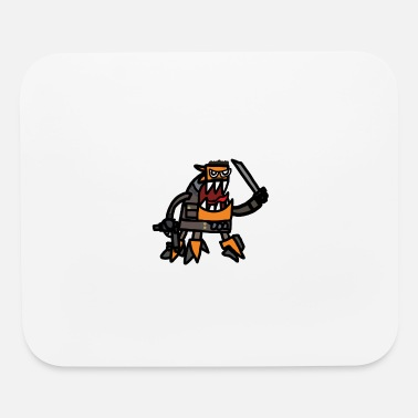 Geek Spinza as tank Dempsey - Mouse pad Horizontal