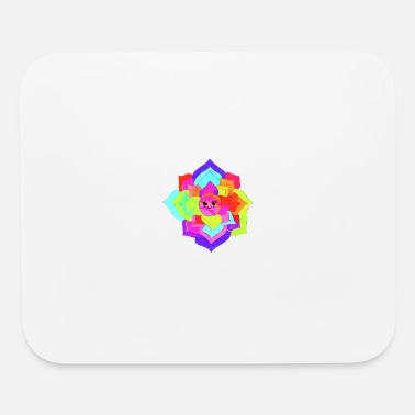 Colorcontest Vivid Flower - Mouse Pad