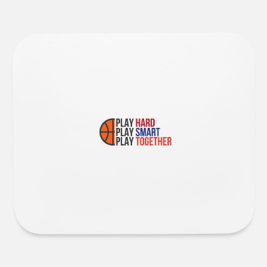 Playing Play Hard, Play Smart, Play Together - Mouse Pad