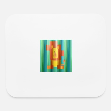 Lion Artwork Carlos Cruz Diez - Mouse Pad