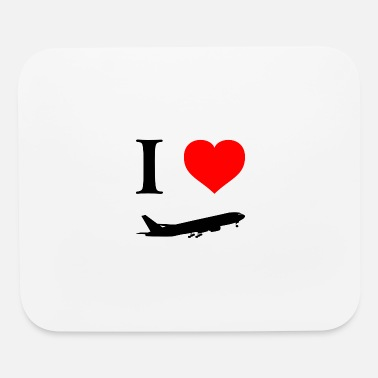 I love flying - Mouse Pad