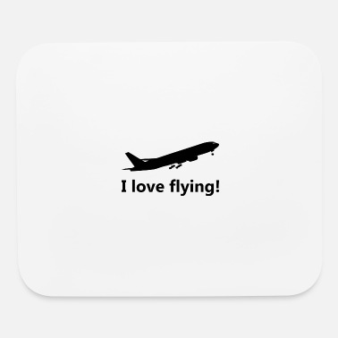 I love flying! - Mouse Pad