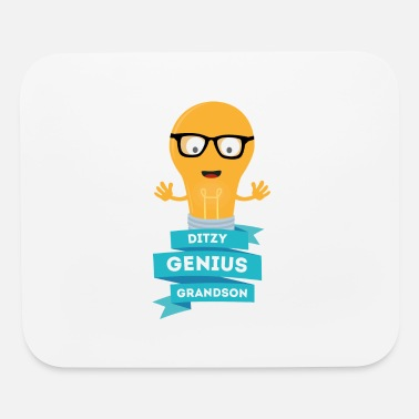 Students ditzy Genius grandson - Mouse Pad
