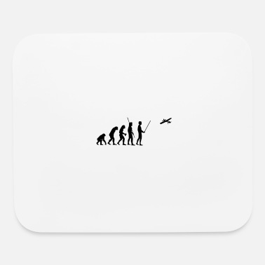 Model Airplane Evolution model airplane - Mouse Pad
