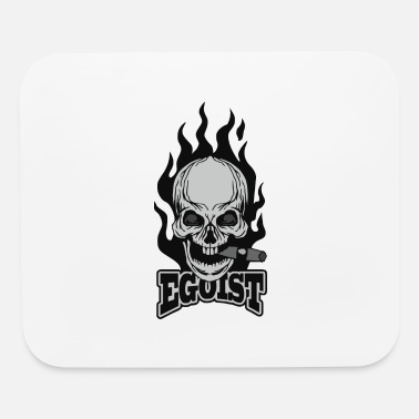 Coat Of Arms Grunge Skull Coat Of Arms - Mouse Pad