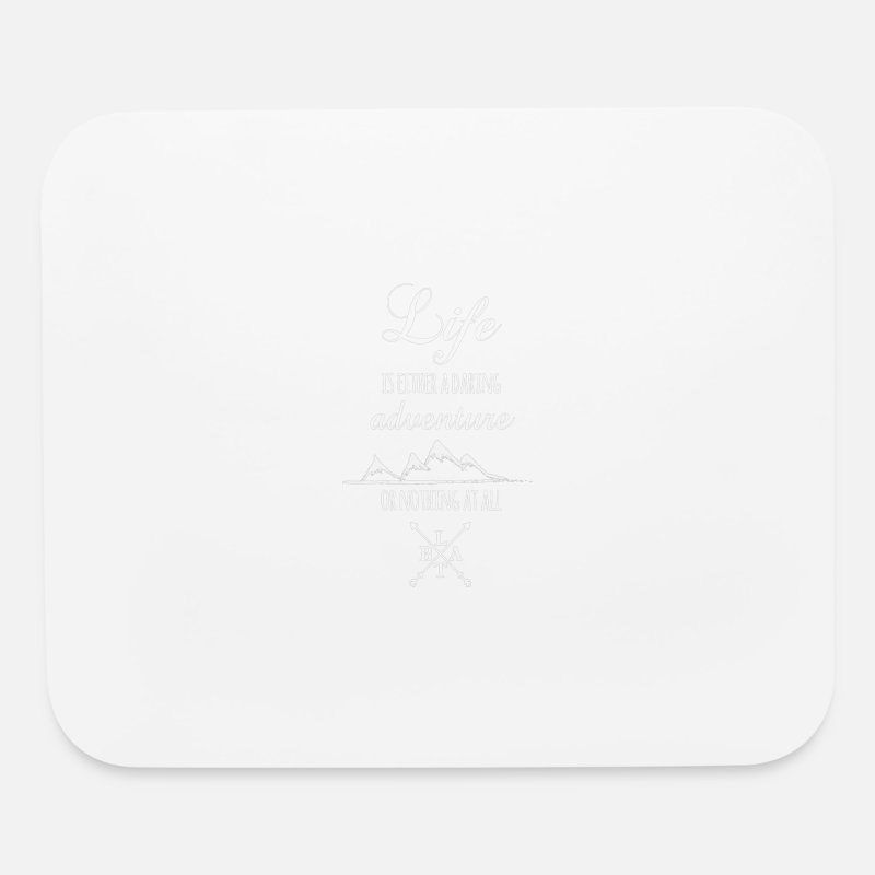 Adventure Mousepads  - Daring Adventure LTBA - Mouse Pad white