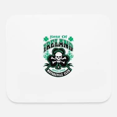 Sons Of Ireland Hooligans Motorcycle Club Irish Ti - Mouse Pad