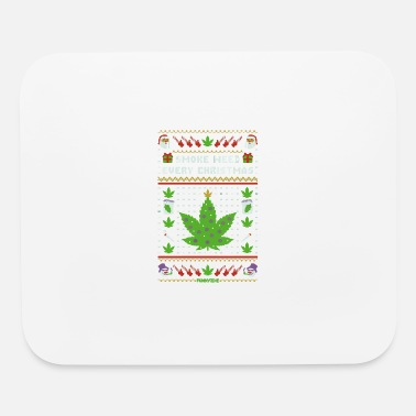 Smoke Weed Smoke Weed Every Christmas - Mouse Pad