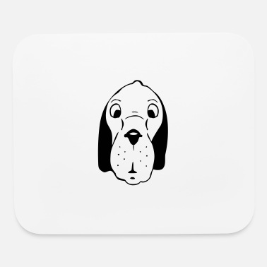 Dog Head dog head - Mouse Pad