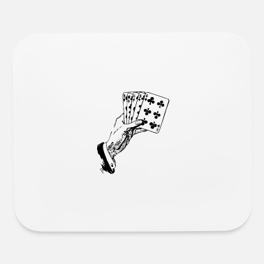 Playing Playing Cards - Mouse Pad