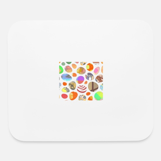 Cool Mouse Pads - Colours - Mouse Pad white
