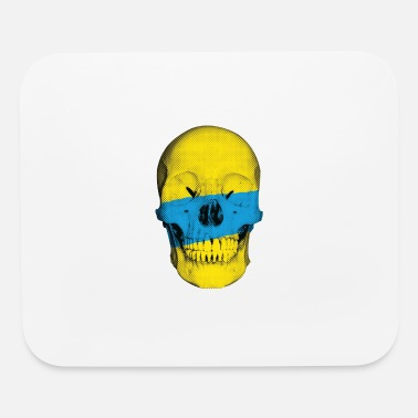Popartcontest Painted Skull - Mouse Pad