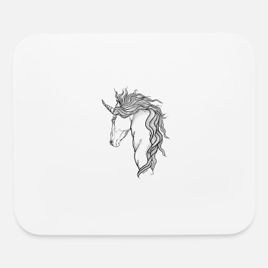Mythical A mythical Unicorn - Mouse Pad