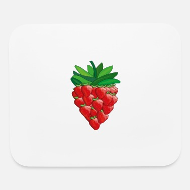 strawberry - Mouse Pad