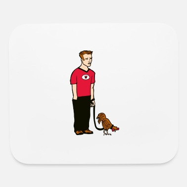 Cock bigcockenvy man with small rooster No Text - Mouse Pad