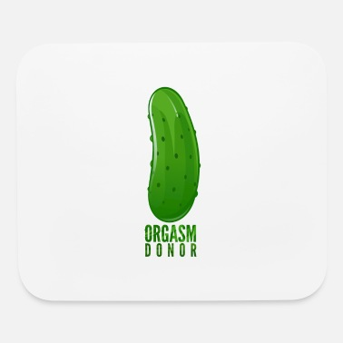 orgasm donor - Mouse Pad